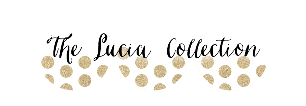The Lucia Collection. Bridal shower and wedding decor