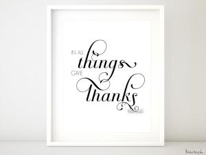 be thankful printable decor