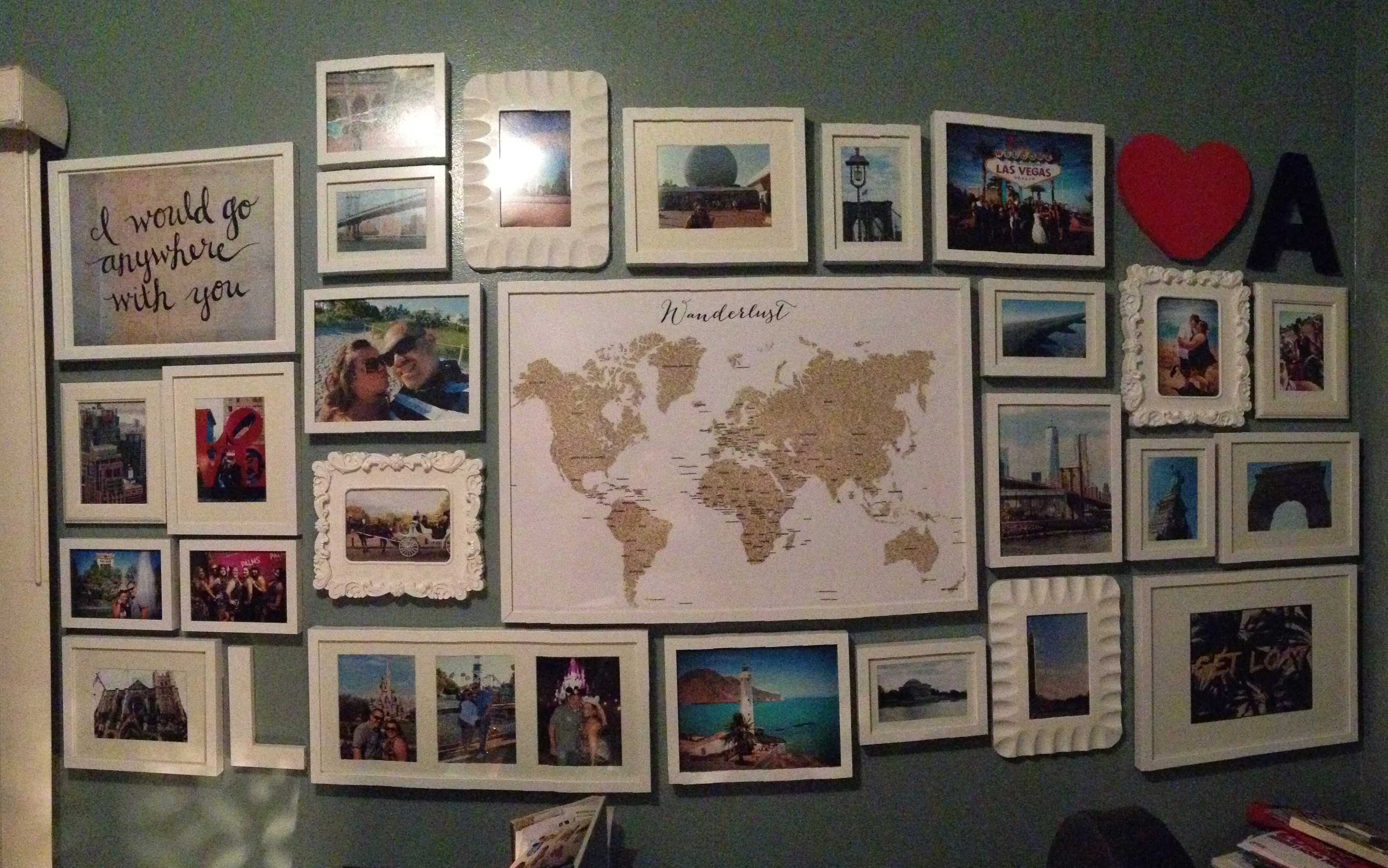 Travel Collage Wall