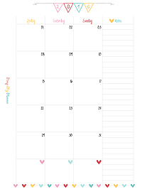 1-Month-2-pages_PlannerInsert_PimpMyPlanner