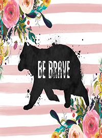 BeBrave_Art-Print_MyLoveNotedesigns