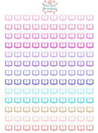 Book-icons_Stickers_ChicChicPrintables
