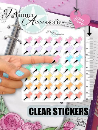clear pus pin stickers 2