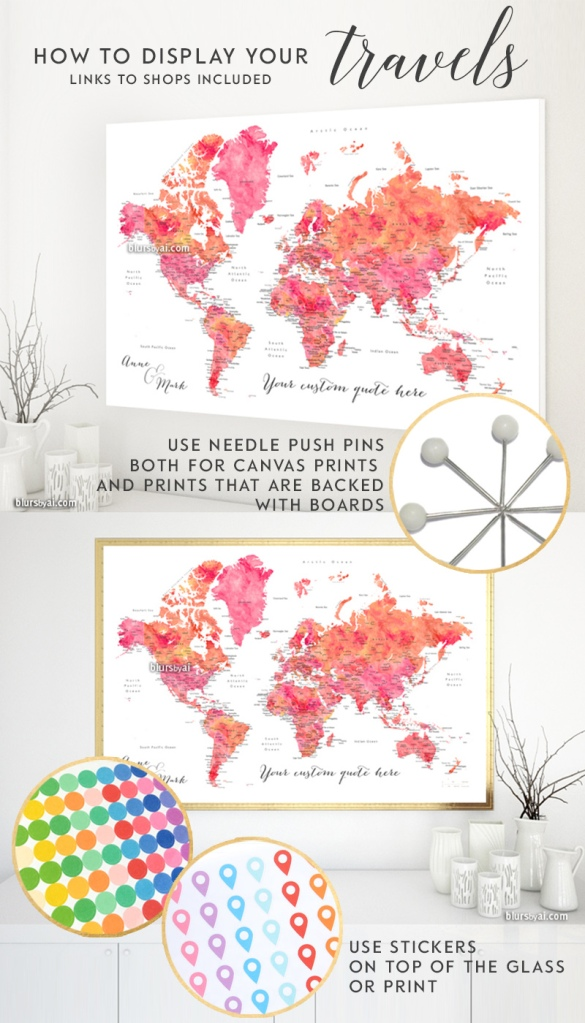 how-to-display-travels-on-canvas-maps-or-map-prints