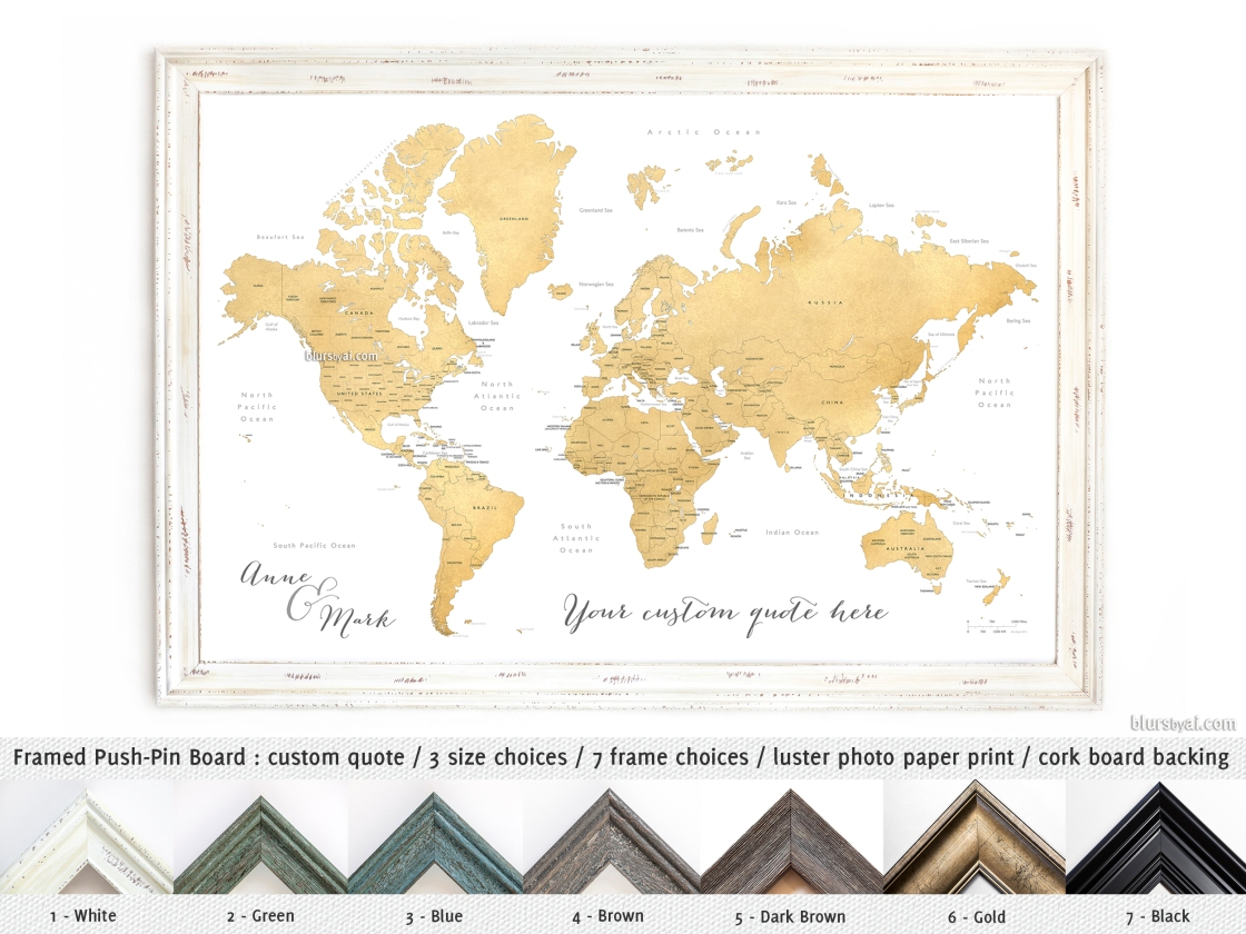 Europe pinboard map with silver wood frame political flags of the political wall map of the world gumiabroncs Choice Image