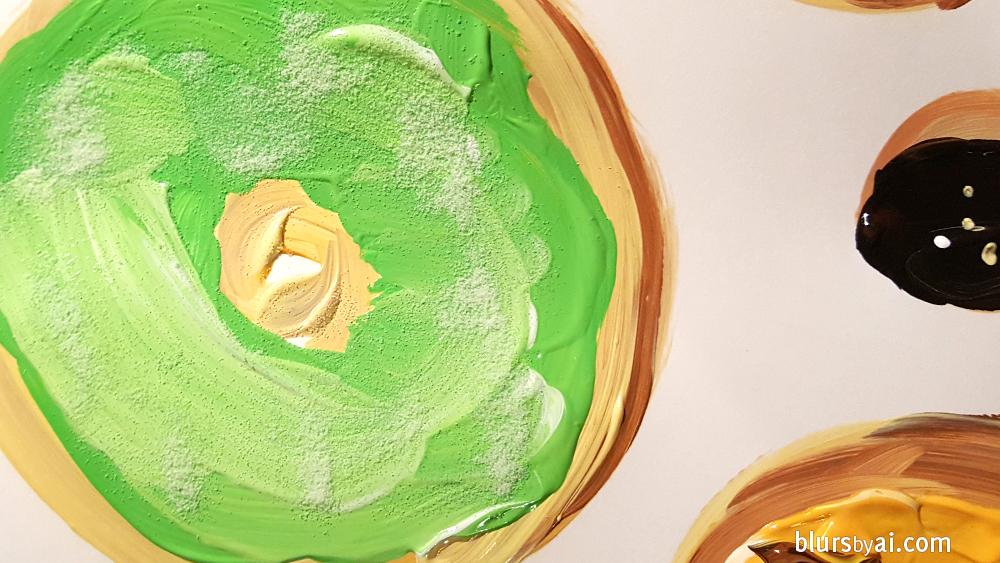 donut-illustration-green