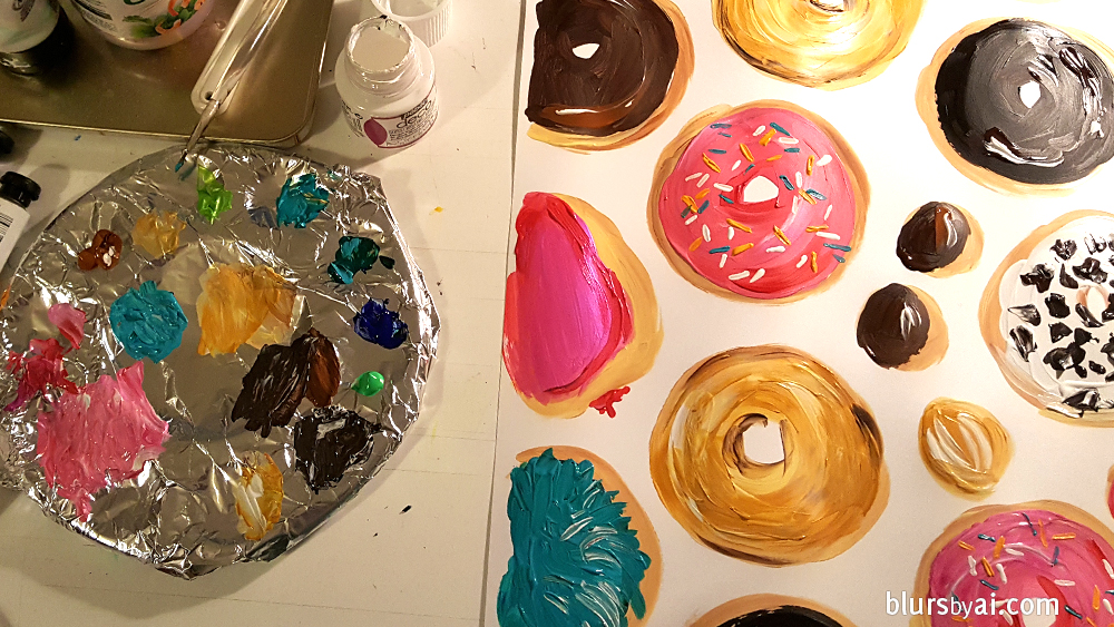 donut-illustration-hand-painted