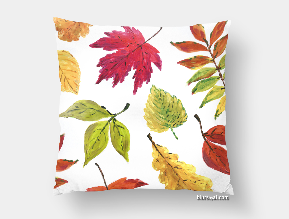 fall-leaves-pillow-front