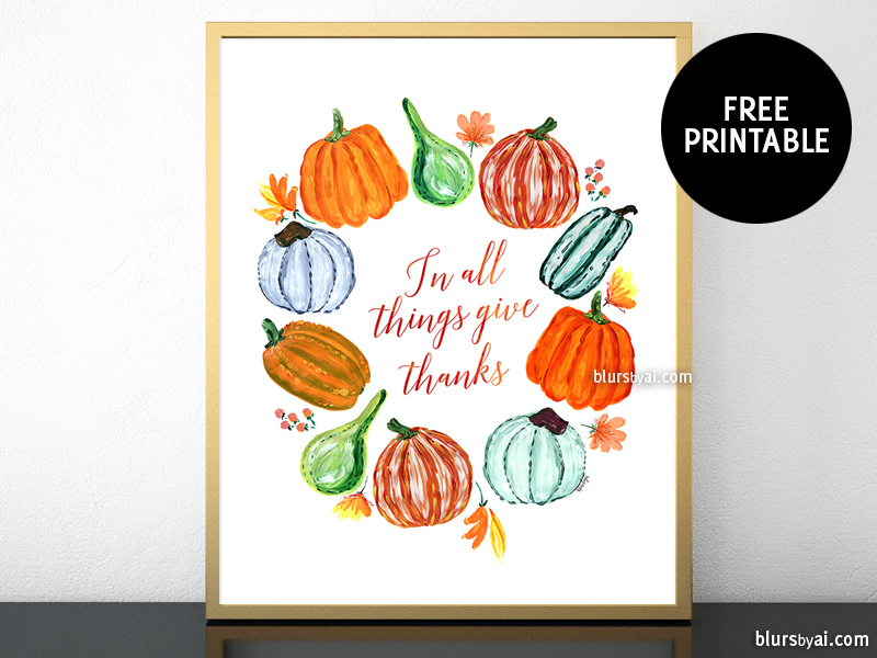 photo regarding Thanksgiving Printable Decorations known as Family vacation decorations a totally free Thanksgiving printable