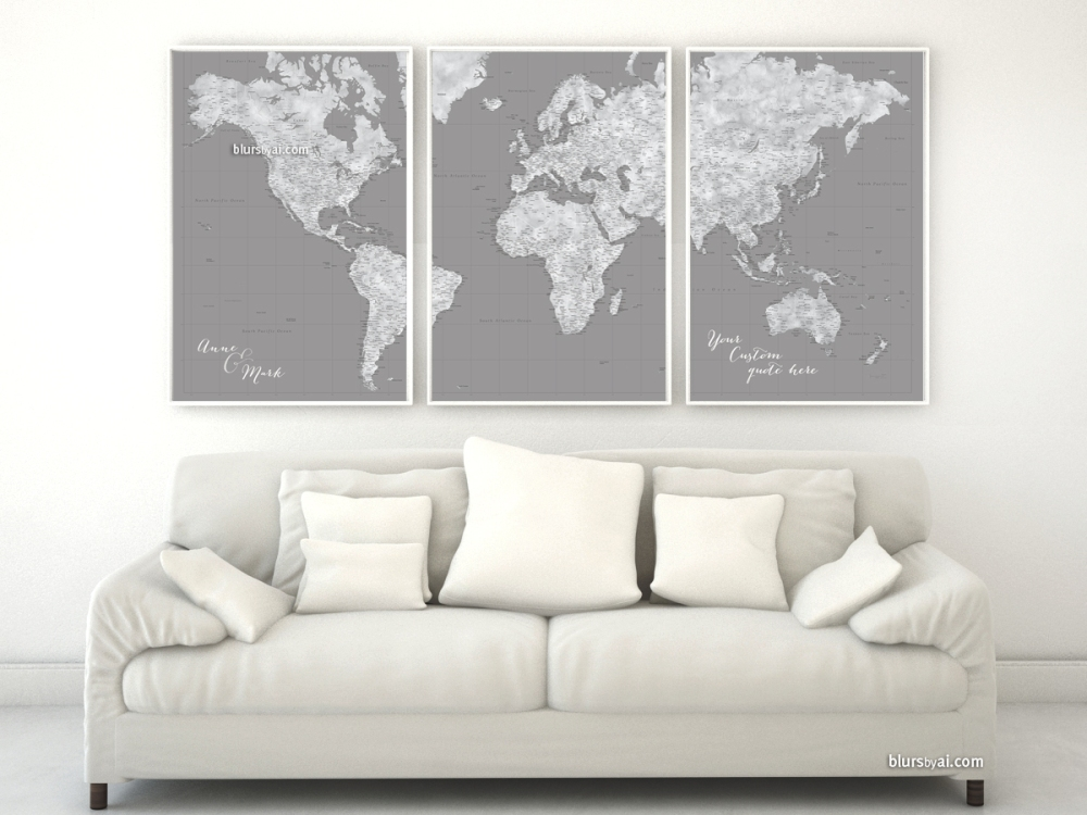 001-three-panel-world-map-grayscale