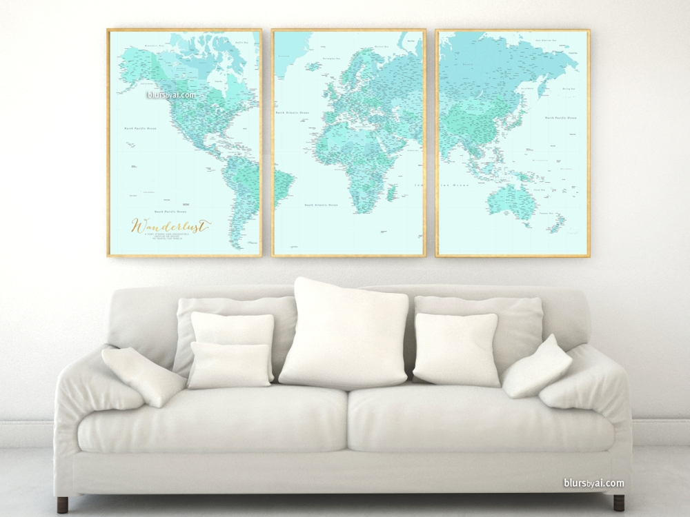 001-world-map-prints-aquamarine-blue-robin-egg-blue