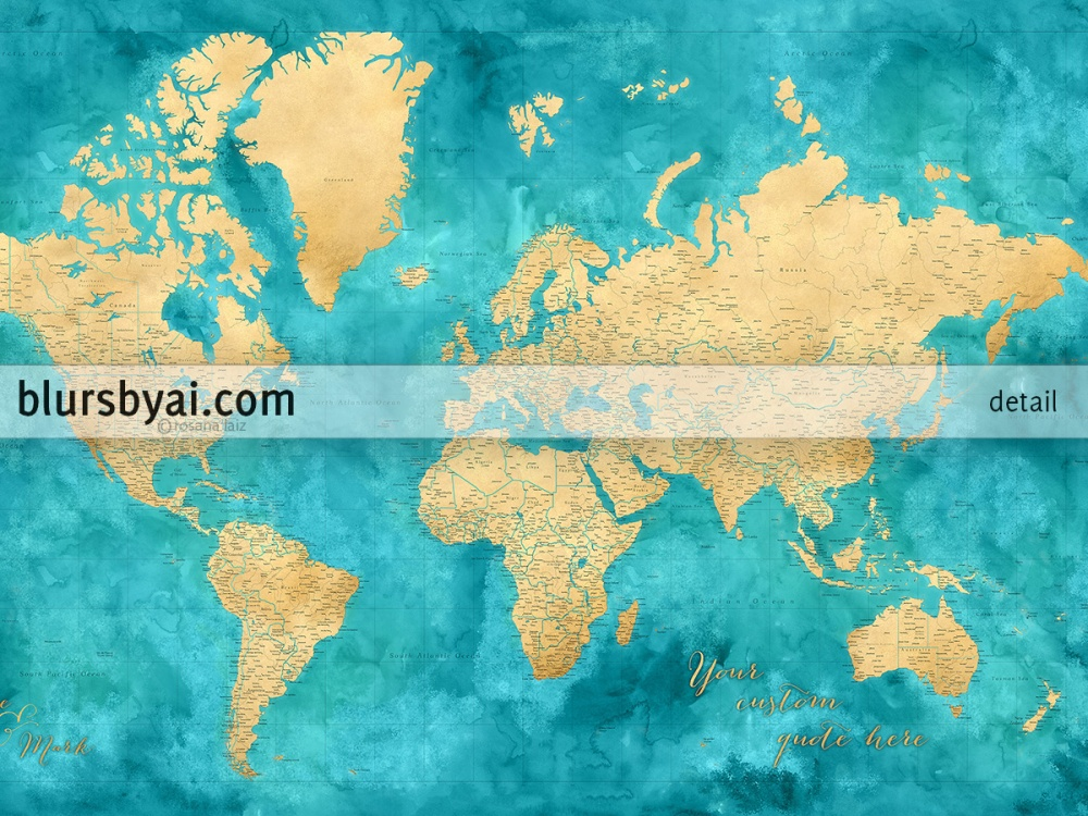 highly-detailed-gold-and-teal-world-map-1