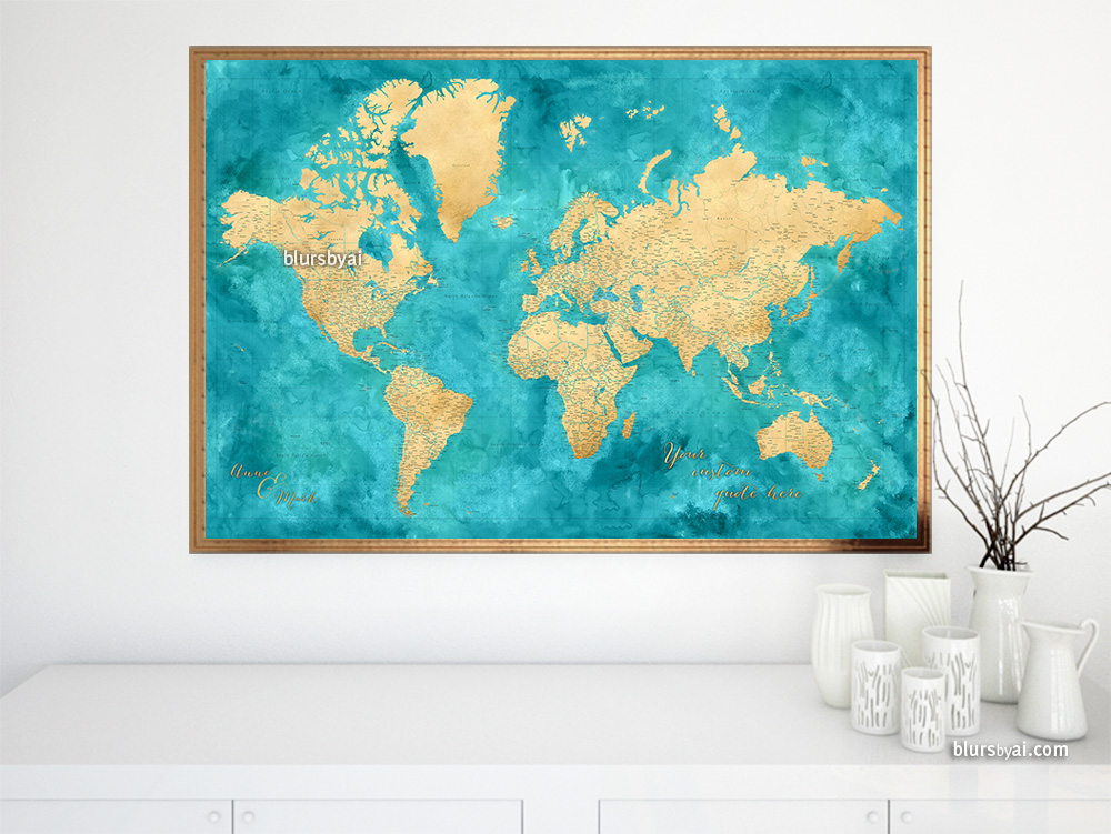 highly-detailed-gold-and-teal-world-map