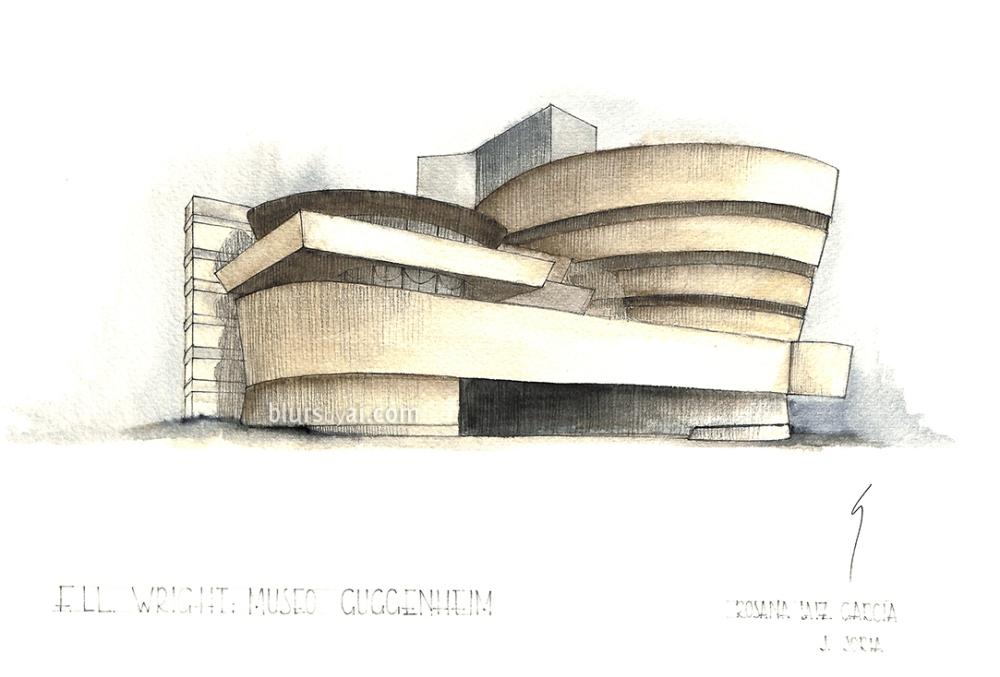 Architectural Sketches Blursbyai
