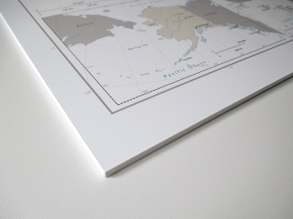 forex print corner edge push pin map