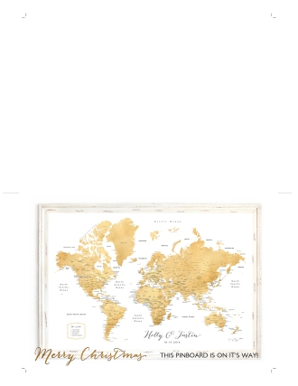 world map push pin gift placeholder card 5