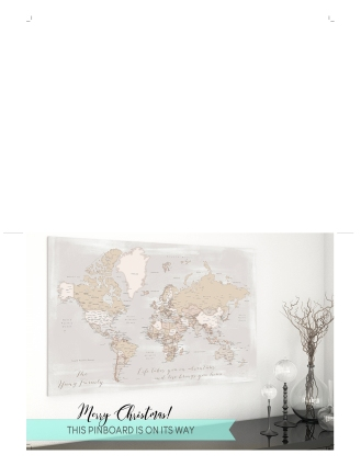 world map push pin gift placeholder card 6