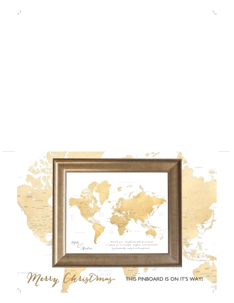 world map push pin gift placeholder card 7