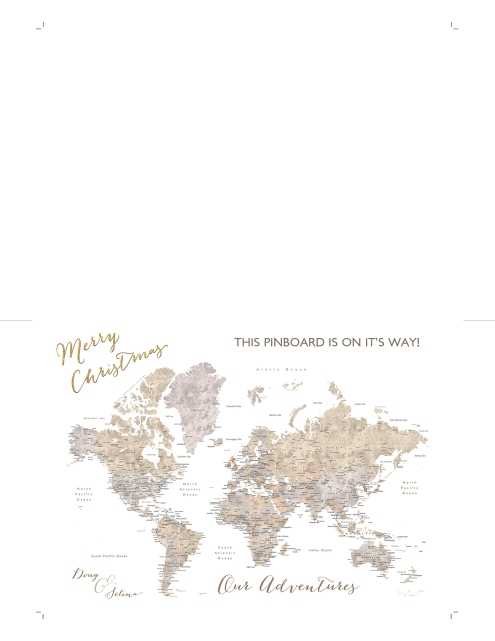 world map push pin gift placeholder card 8