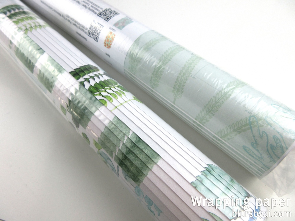 wrapping paper by blursbyai world map and watercolor floral patterns (3)