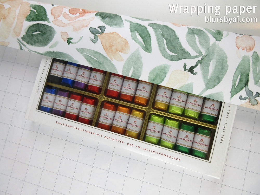 wrapping paper by blursbyai world map and watercolor floral patterns (8)