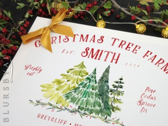 personalized custom family name christmas tree farm sign by blursbyai (1)